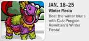 Winter Fiesta Dates