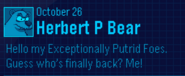 EPF Message October 26 1