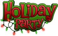 Holiday Party 2019 Logo