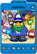 Lily8763cp Player Card - Early February 2020 - Club Penguin Rewritten
