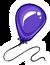 Purple Balloon Pin