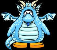 Blue Dragon Costume PC