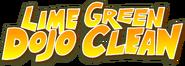 Lime Green Dojo Clean logo
