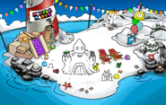 Puffle Party 2018 Beach