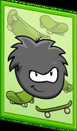Black Puffle Poster sprite 003