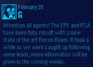 EPF Message February 20 2