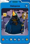 Halopona Player Card - Early August 2019 - Club Penguin Rewritten (2)