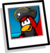 Rockhopper background icon