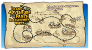 Island Adventure Party Login Screen
