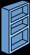 Blue Bookshelf sprite 009