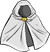 White Hooded Cloak