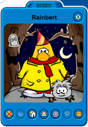 Rainbert Player Card - Late October 2019 - Club Penguin Rewritten