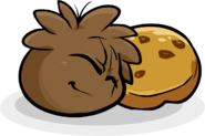Brown Puffle Cookie