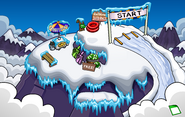 Penguin Games Mountain Top