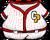 Red Baseball Uniform