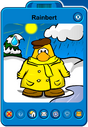 Rainbert Player Card - Late March 2019 - Club Penguin Rewritten (2)