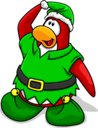 Elf Hat Penguin