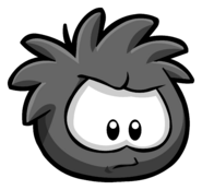 Black Puffle Pin