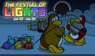 Festival of Lights Login Screen