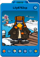Lily8763cp Player Card - Early November 2019 - Club Penguin Rewritten