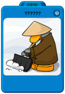 Sensei mystery Player Card