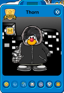 Thorn Player Card - Late November 2018 - Club Penguin Rewritten (3)