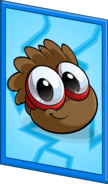 Brown Puffle Poster sprite 003