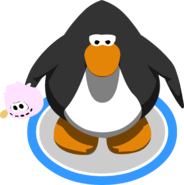 Pink Puffle Stuffie IG