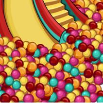 Ball Pit Background