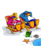 Beach Chair Chilling card image