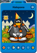 Halopona Player Card - Late October 2019 - Club Penguin Rewritten (2)