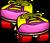 Pink Rollerskates