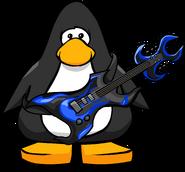 Blue Hard Rock Guitar PC