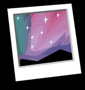 Aurora Background Icon