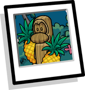 Yellow Kahuna Background Icon
