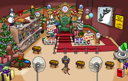 Christmas Party 2019 Book Room Concept