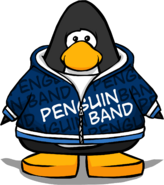 Blue Penguin Band Hoodie PC