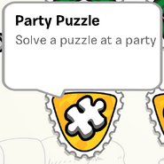PartyPuzzleStampinStampBook