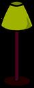 Burgundy Lamp