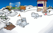 Earthquake Snow Forts