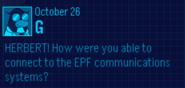 EPF Message October 26 2