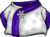 Purple Blizzard Wizard Robe