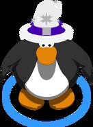 White Blizzard Wizard Hat IG