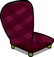 Burgundy Chair sprite 006