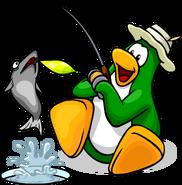 Game Upgrades fishing penguin