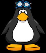 Swim Cap and Goggles PC