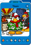 Thorn Player Card - Early February 2019 - Club Penguin Rewritten