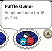 Puffle Owner Stamp Book