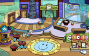 Puffle Party 2020 Ski Lodge