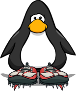 Red Hiking Shoes PC